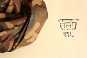 HIPBAG【カモフラ・ブラウン】