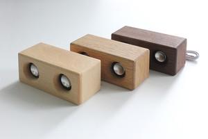ダブルウッドスピーカー/ iPhone、スマホ、タブレット用