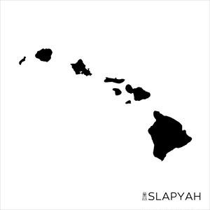 ハワイ諸島 ステッカー