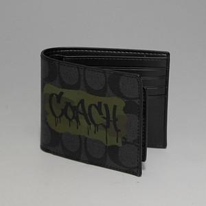 COACH MENS コーチ メンズライン 3IN1 SIG GRAFFITI セパレートカードケース付二つ折り財布 シグネチャーグラフティ ブラック