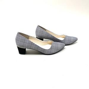 Mini Vcut heel Pumps ミニVカットヒールパンプス #pf8270  【POMFLEUR】 madeinjapan 日本製