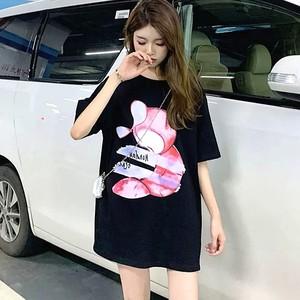 【トップス】半袖プリントカジュアルTシャツ28672603