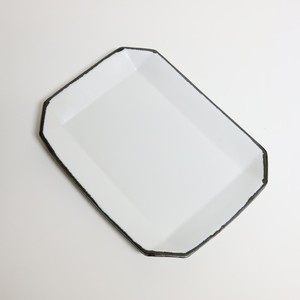 角皿M【WHITE】