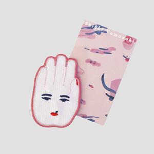 【ShiShi Yamazaki】刺繍シール HANDPOWERガール
