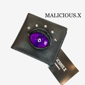 cat eye wallet / violet
