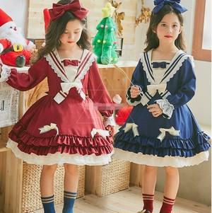 3513ロリータ服 女の子 子供 キッズ lolita ワンピース コスプレ衣装
