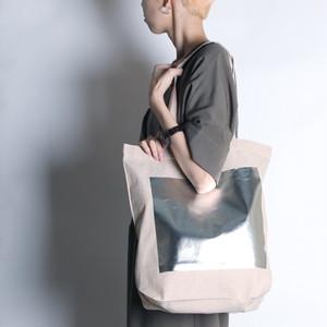 2019AWhaku-bag6【Parfum de Charmant Fleur/パルファム ドゥ シャルマンフルール】haku print tote bag/箔プリント巾着トートバッグ6_