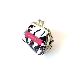 北欧デザイン がまぐちコロロン財布 | paradise black