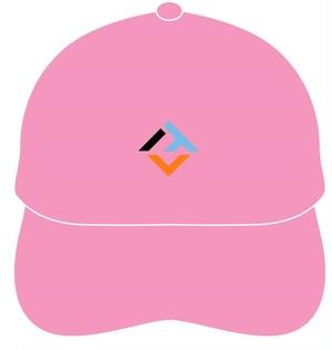 オフィシャルロゴキャップ(ピンクシックスパック)