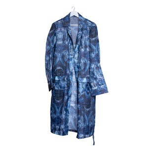LONG PAJAMA JACKET