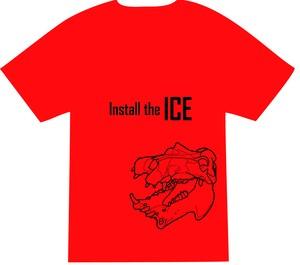 Tシャツ-カバ(赤)