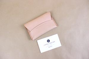 JAPAN LANSUI DESIGN 名入れ対応 ヌメ革手作り手縫い 名刺入れ 品番NBD9GJGSD