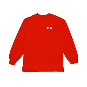 @LEEGET × KONCOS L/S T-SHIRT [Red]