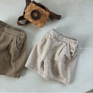 =sold out=corduroy short-pants〈oatmeal〉