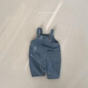 【予約販売】coco suspender-pants【baby】〈BELLA BAMBINA〉