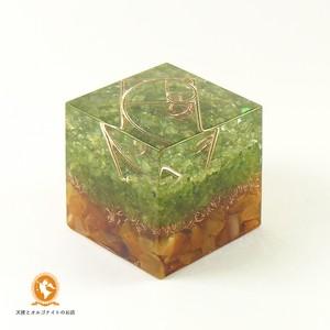[受注製作]キューブオルゴナイト DOUBLE growth cube100900003