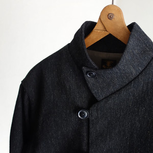 classic bakers woolserge jkt / mixblack