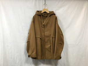 "UNIVERSALS PRODUCTS.""COTTON HOODED COAT CAMEL"""