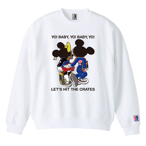 "予約アイテム ""Let's Hit The Cretes"" Sweat 12.4oz [A] Mens & Girls"
