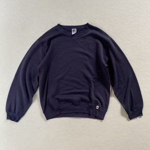 90's Russel | navy sweat (V0691M)