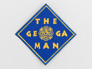 CUSTOM WAPPEN - THE GERUGA MAN- (NAVY) / GERUGA