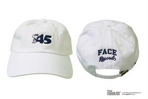 45'S CAP / WHITE × NAVY / SIZE FREE