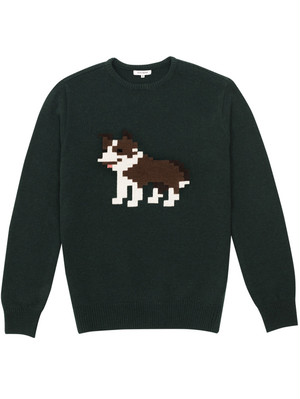 COLLIE LAMBSWOOL SWEATER