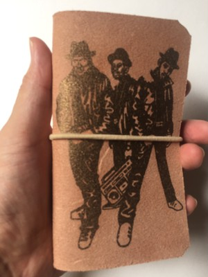 ' RUN DMC' leather mobile case  ( 送料250円 )