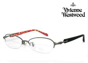 ヴィヴィアン ウエストウッド vw5102 gr 眼鏡 メガネ Vivienne Westwood vw-5102 レディース 女性用 メタル βチタンナイロール