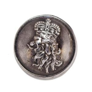 ライオン M シルバー / コンチョボタン