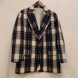 """70's """"Manhattan"""" Seersucker Tailored Jacket"""