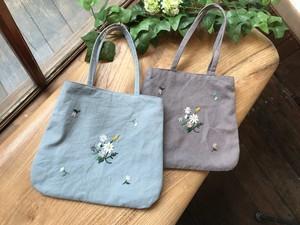 花摘みのミニバッグ