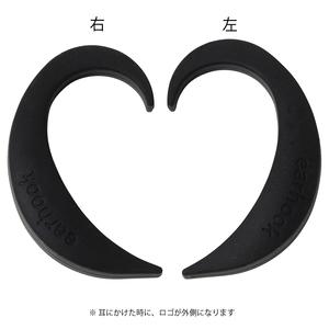 EARHOOK BLACK(黒)Mサイズ 片方のみ