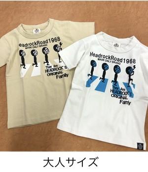 HEADROCK大人 NewアビーロードTシャツ 920004