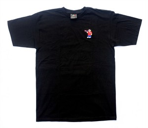 PIZZA PIZZA BEAR TEE BLACK M