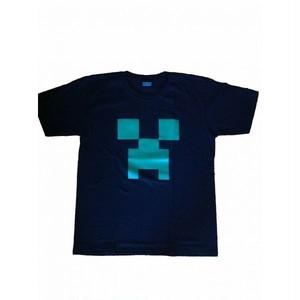 Minecraft マインクラフト サンドボックスゲーム プリント Tシャツ