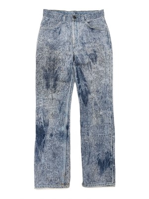 LEVI'S HAND PAINTED JEANS