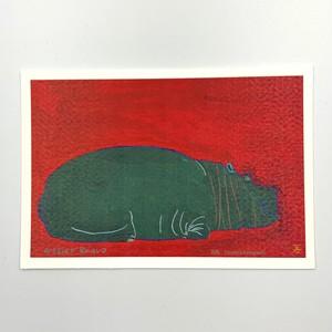 アートカード【Yasuhiro Kobayashi 河馬】