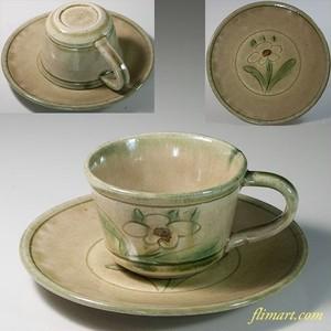 清山黄瀬戸碗皿W6280