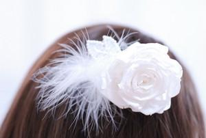 ローズメリアの髪飾り