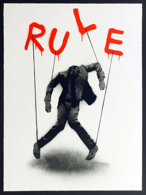 RULE Silk screen print【Limited】