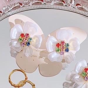 【earrings】Amulet〜YUKInoHANA〜