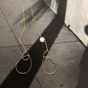 """"""" by no. Lala """"   shizuku hoop&chain pierce"""