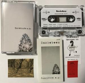 "gal-052 Smokebees ""Sunstroke E.P. "" カセットテープ(透明) 再発盤"