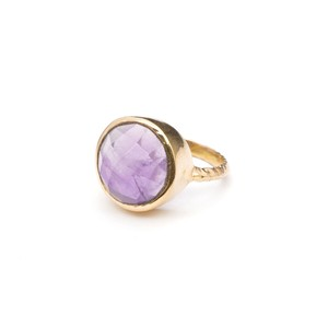 SINGLE STONE NON-ADJUSTABLE RING 012