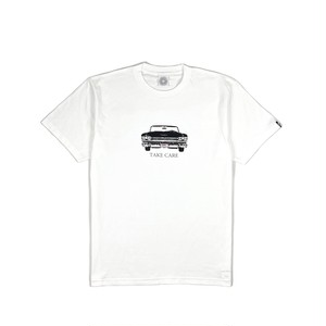 TAKE CARE MESSAGE TEE / WHITE