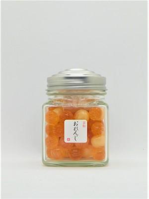 京あめ【彩玉 Irodama 】「オレンジ」 / 瓶入り