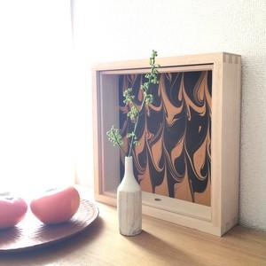 桐の箱庭 COUCHE -クーシュ- 八寸サイズ 二ノ段 [ VIVIDEEP ]