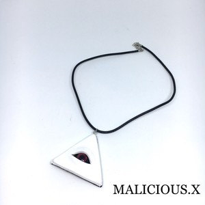 devil eye necklace / red(white)
