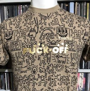 FxxK OFF t-shirt (Haring)